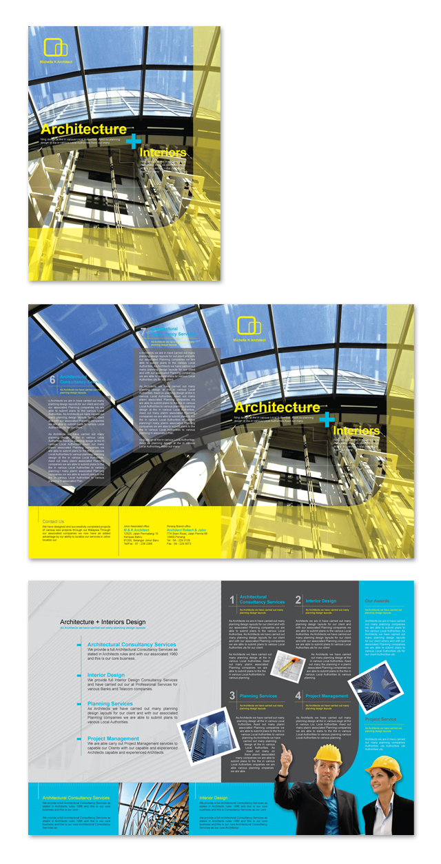 Architecture & Interiors Brochure Template