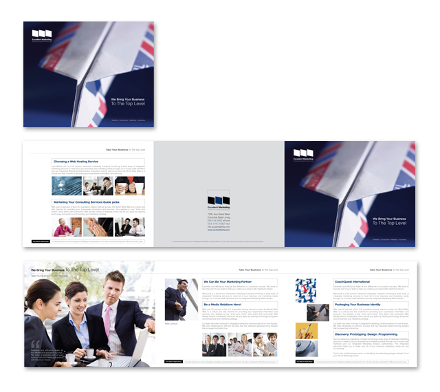 Marketing Consulting Brochure Template