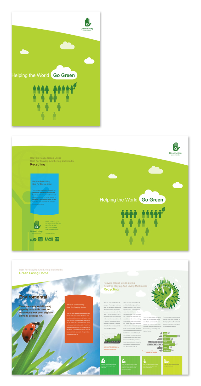 Recycling Brochure Template