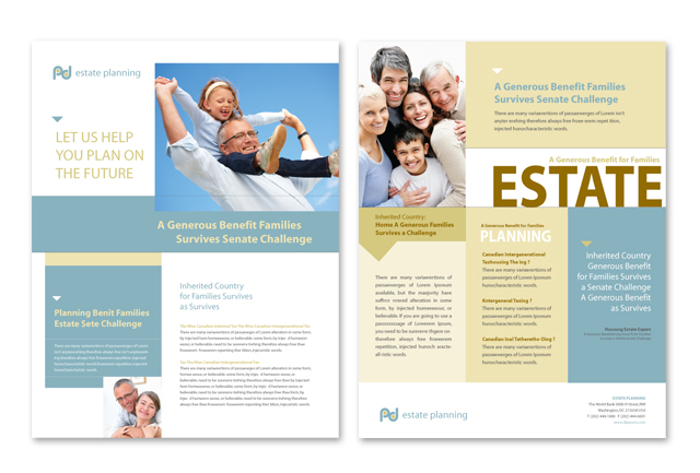 Estate Planning Datasheet Template