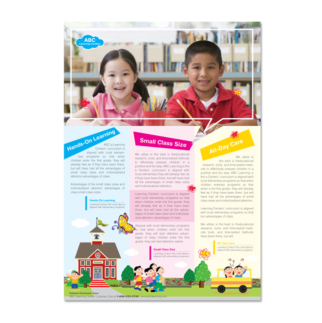Learning Center & School Flyer Template