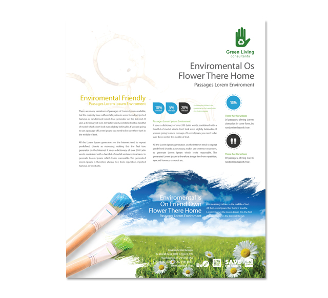 Environmental Groups Flyer Template