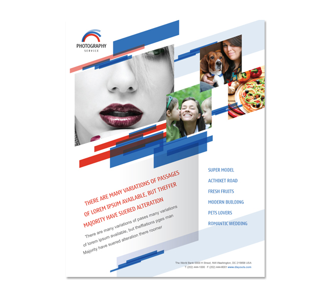 Photography Services Flyer Template