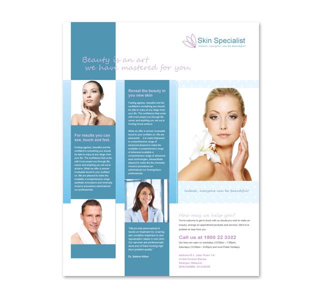 Skin Specialist Centre Flyer Template
