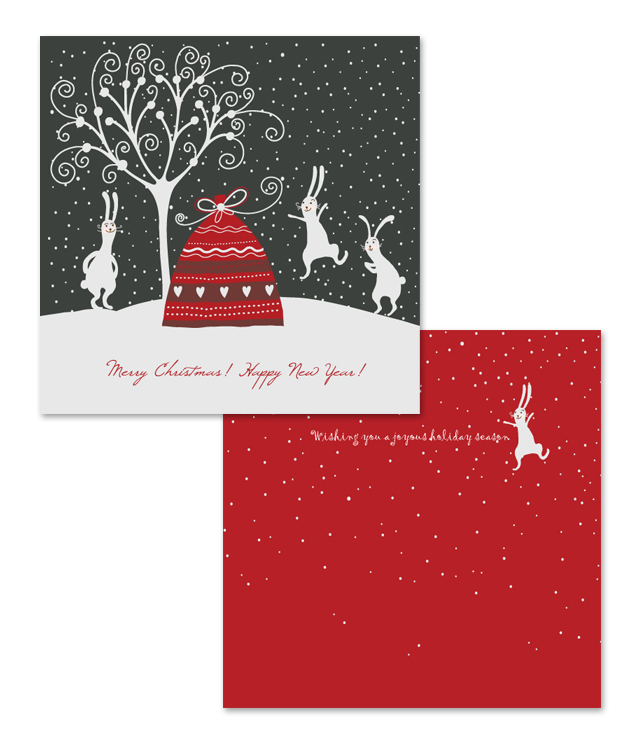 Holiday Seasons Greeting Card Template