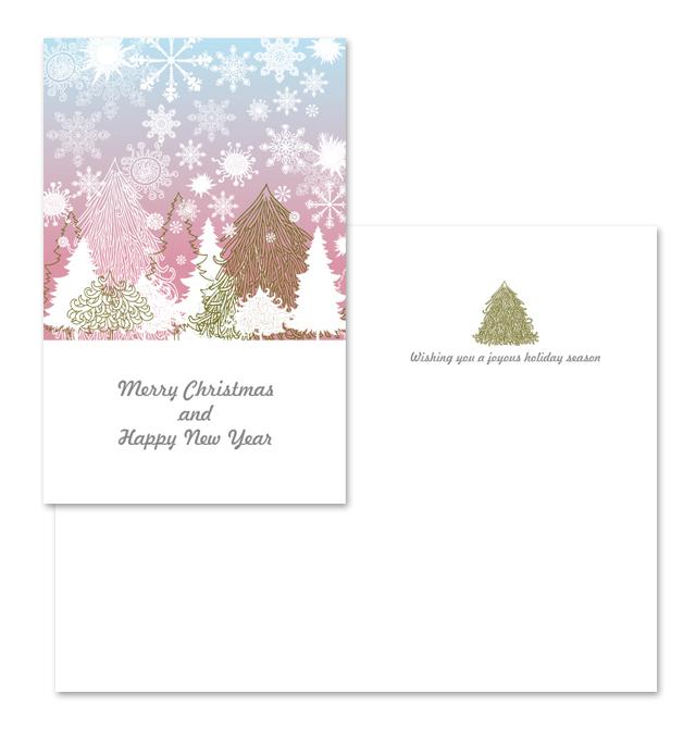 Xmas Greeting Card Template