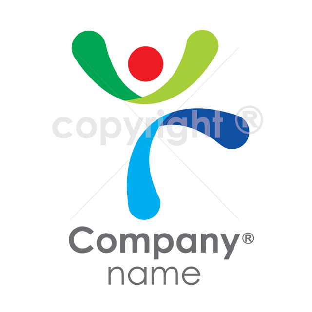 Human Resources Logo Template