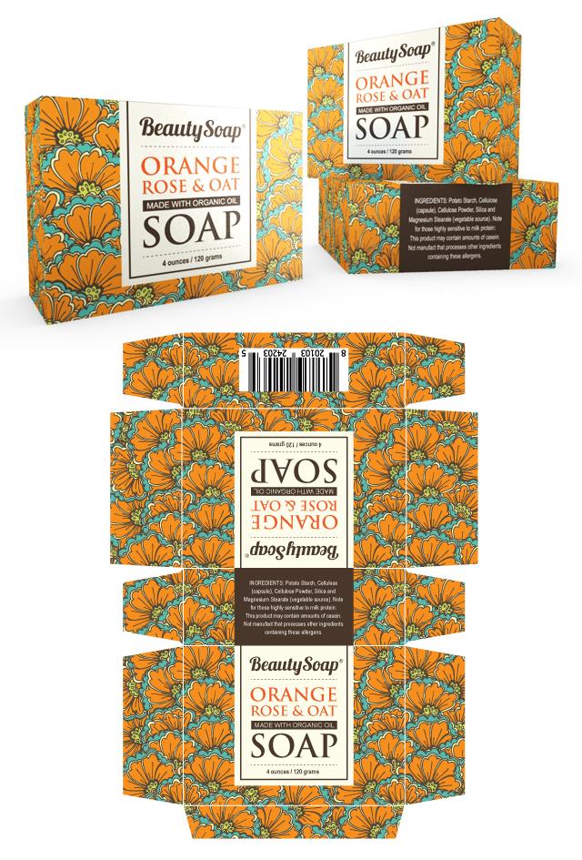 Organic Soap Packaging Template