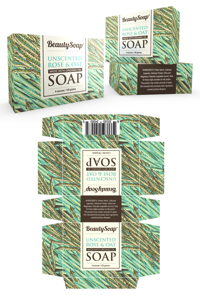 Organic Soap Packaging Template