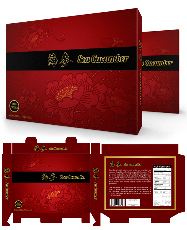 Chinese New Year Food Packaging Template
