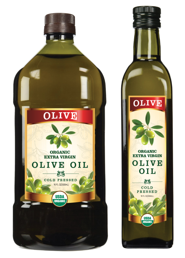 Extra Virgin Olive Oil Label Template