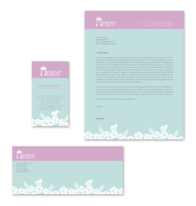 Wedding Planning Stationery Kits Template