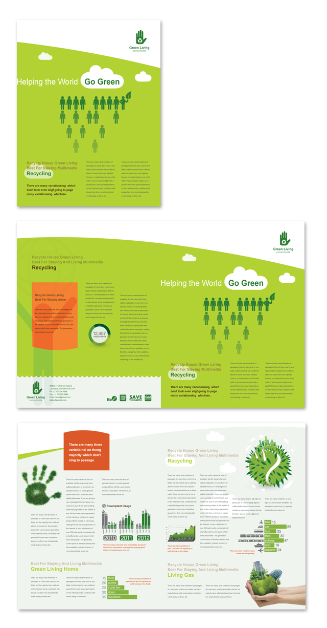 Recycling Newsletter Template