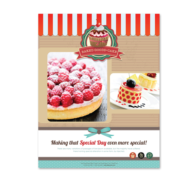 Cakery Poster Template