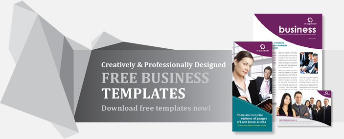 Professional Brochures Templates