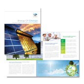 Renewable Energy Consulting Brochure Template