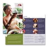 Vineyard & Winery Tour Brochure Template