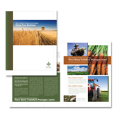 Farming & Agriculture Brochure Template