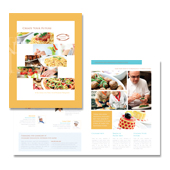 Cooking College Brochure Template