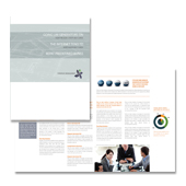 Strategic Management Brochure Template