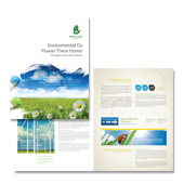 Environmental Groups Brochure Template