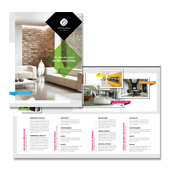 Interior & Exterior Studio Brochure Template