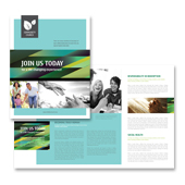 Christian Community Brochure Template