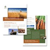 Farming & Agriculture Datasheet Template