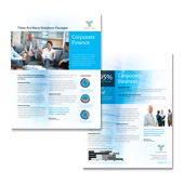 Corporate Finance Datasheet Template