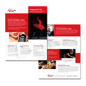 Arts Education Center Datasheet Template