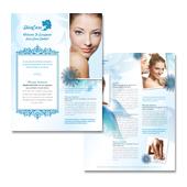 Skincare Center Datasheet Template
