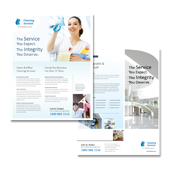 Cleaning & Janitorial Services Datasheet Template