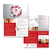 Beauty Spa Datasheet Template
