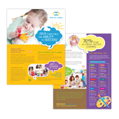 Kids Art Classes Datasheet Template