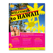 Hawaii Travel Agency Flyer Template