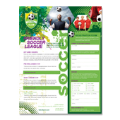 Soccer Club Flyer Template