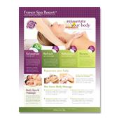 Beauty Spa & Massage Resort Flyer Template