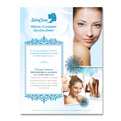 Skincare Center Flyer Template