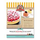 Cakery Flyer Template