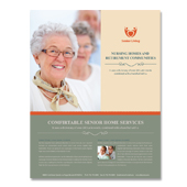 Senior Housing Flyer Template
