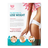 Weight Loss Center Flyer Template
