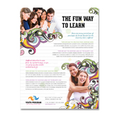 Youth Education Program Flyer Template