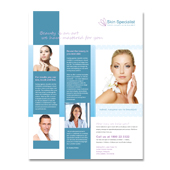 Skin Specialist Centre Flyer Template