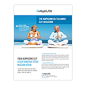Yoga Instructor & Studio Flyer Template