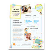Preschool Flyer Template