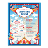 Kids Carnival Day Flyer Template