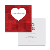 Free Valentine's Day Card Template Sample
