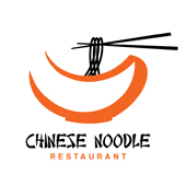 Chinese Noodle Restaurant Logo Template