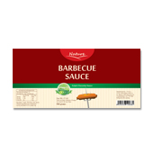 Barbecue Sauce Label Template