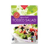 Fresh Salad Label Template
